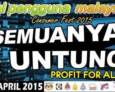 Pekomik @ Stadium Bukit Jalil sempena Festival Pengguna Malaysia 2015