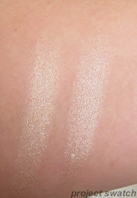 Barely Branded / Barely Beige comparison swatches