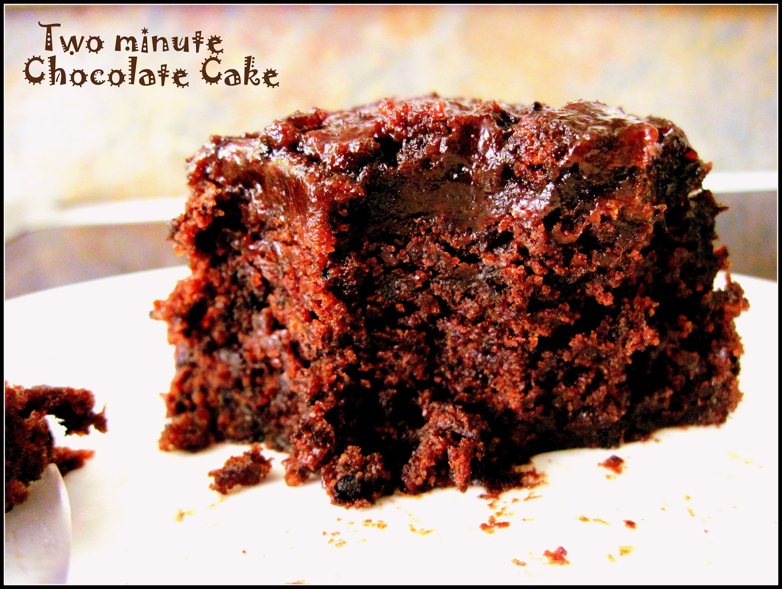 Food food and food microwave chocolate cake for Cake recipe without butter