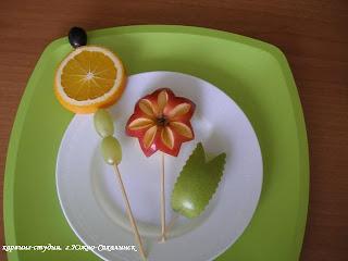 мастер-класс букеты из фруктов своими руками