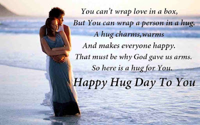 hug day messages and sms