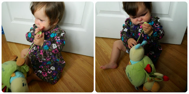 Little Bird Told Me Curious Caterpillar Activity Pull Along - A Review