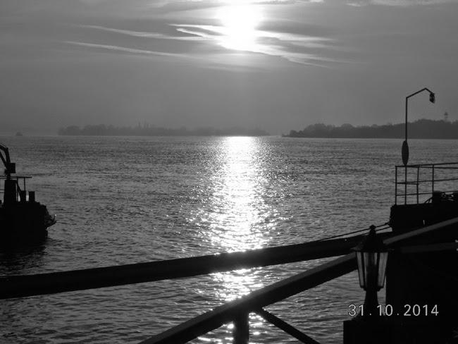 rasarit de soare pe Dunare