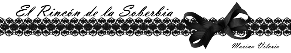 El Rincón de la Soberbia. Marina Viloria