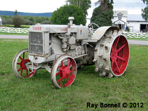 Old Case Tractor : Sketches of alaska old lug wheeled case tractor at