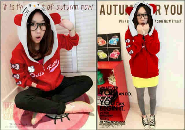 Jacket Hodie Zipp Kitty