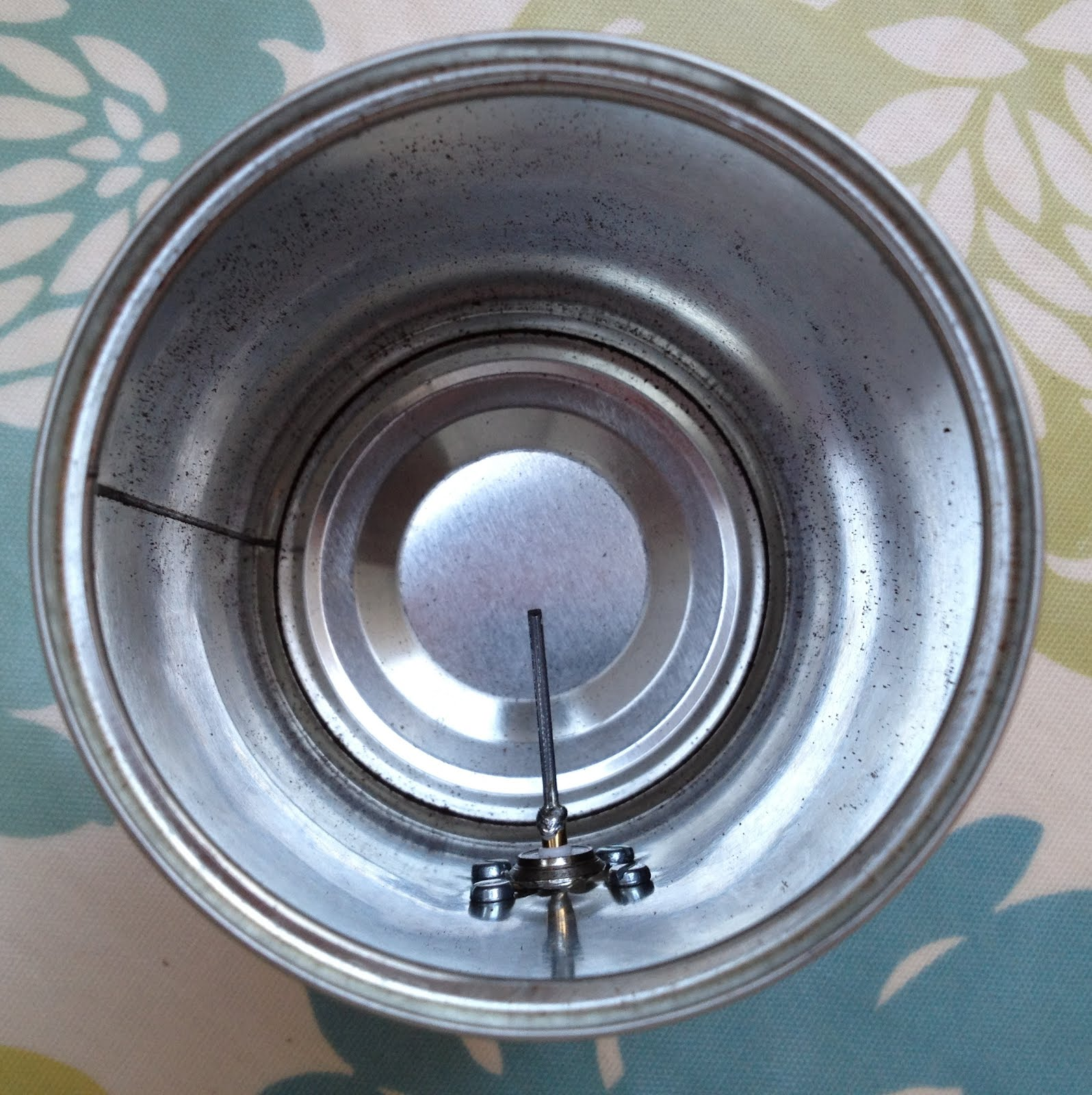 Схема антенны из пивных банок фото
