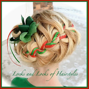 Christmas Ribbon Braid