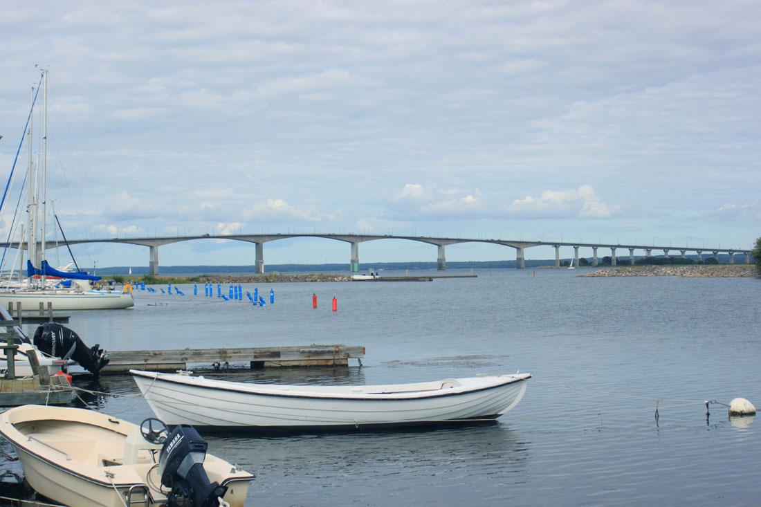 Ponte tra Kalmar verso Öland