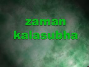 Zaman Kalasubha (zaman sukaria)