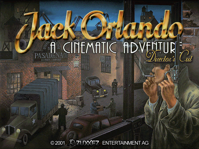 Jack Orlando Director's Cut Title Screen