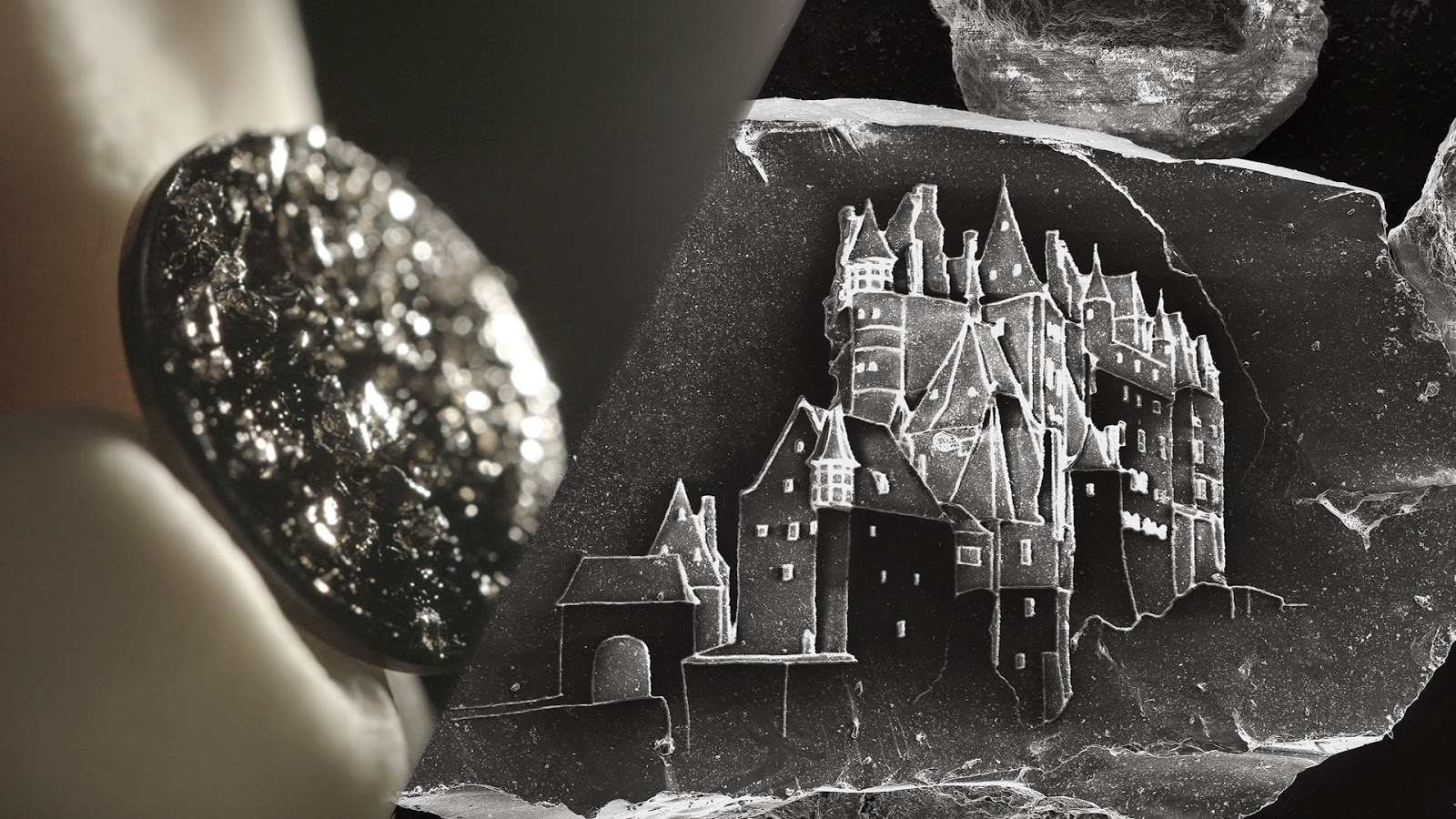 Creating Sand Castles With A Single Grain Of Sand