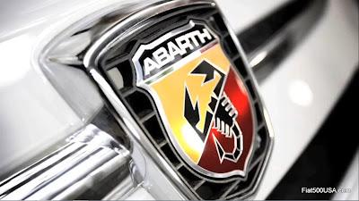 Fiat 500 Abarth emblem