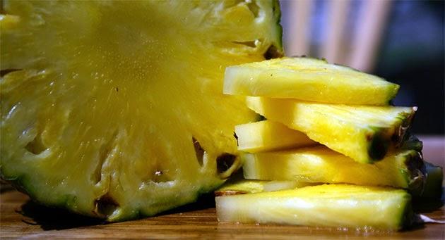 สูตรผิวหน้าใส ด้วยสับปะรด