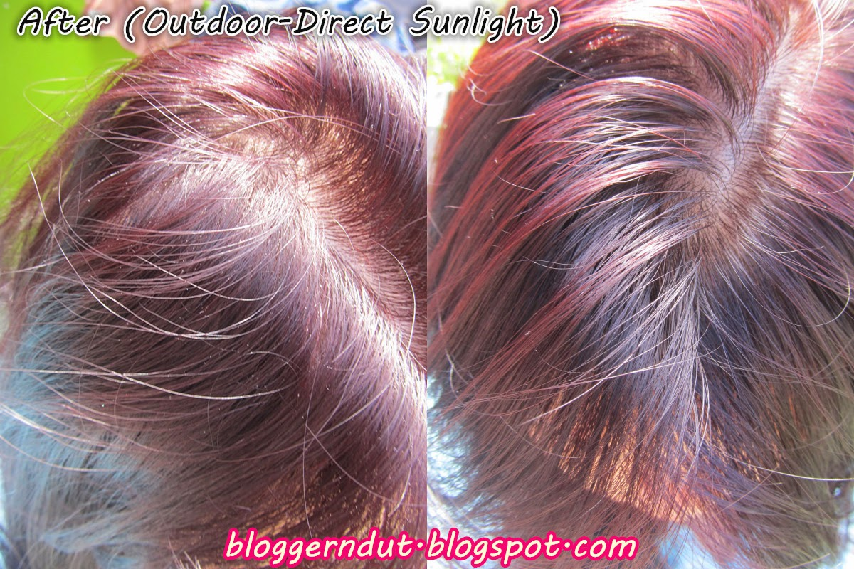 Blogger Ndut Review Garnier Color Naturals Cream In Burgundy Semir Rambut Hi Top Dont Be So Sad Ps If You Want More Vivid And Visible Just Bleach Your Hair But It Will Damage Because This Is What Looks Like