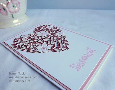 Stampin' Up! Bloomin' Love card