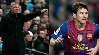 Ferguson tiene miedo de no saber hasta donde llegará Messi