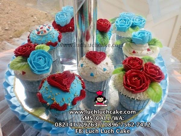 cupcake tier tingkat 2 murah