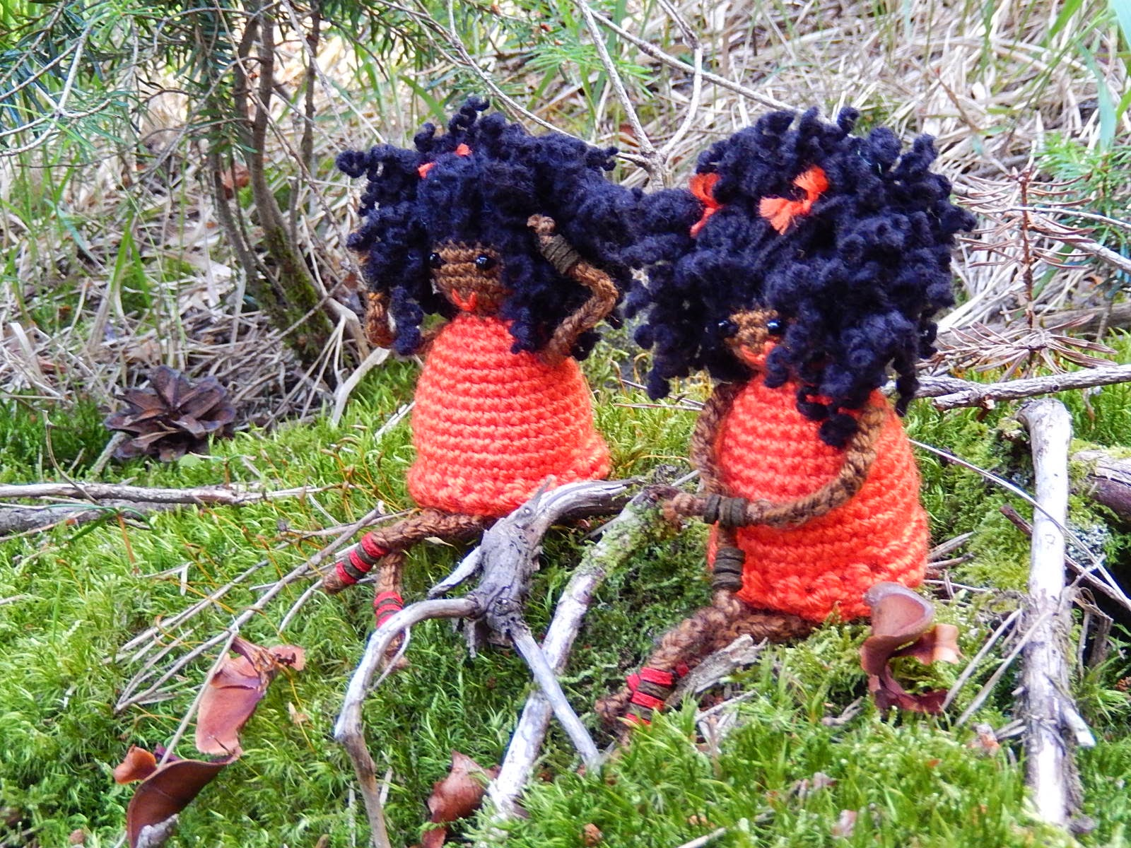 Amigurumi girls