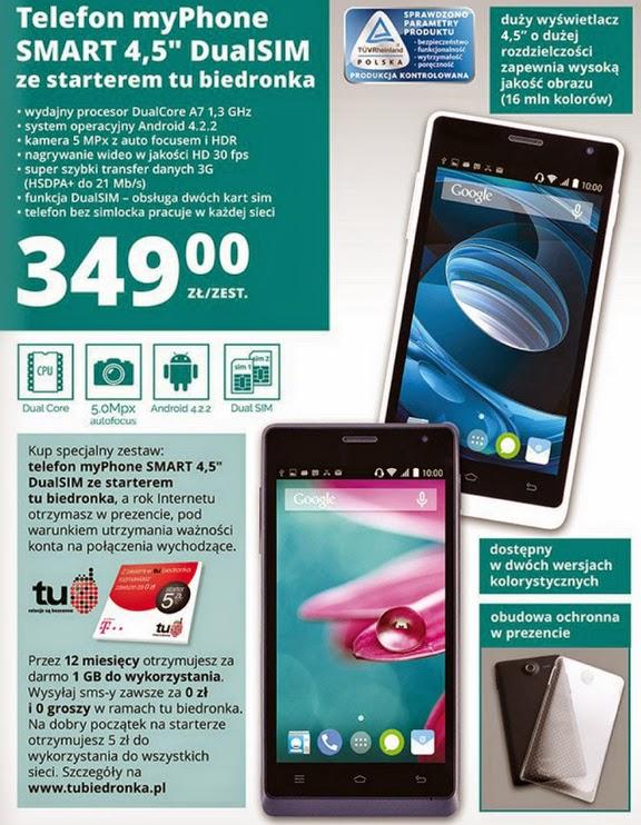 Telefon myPhone SMART 4,5