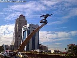 Aerospace sculpture.