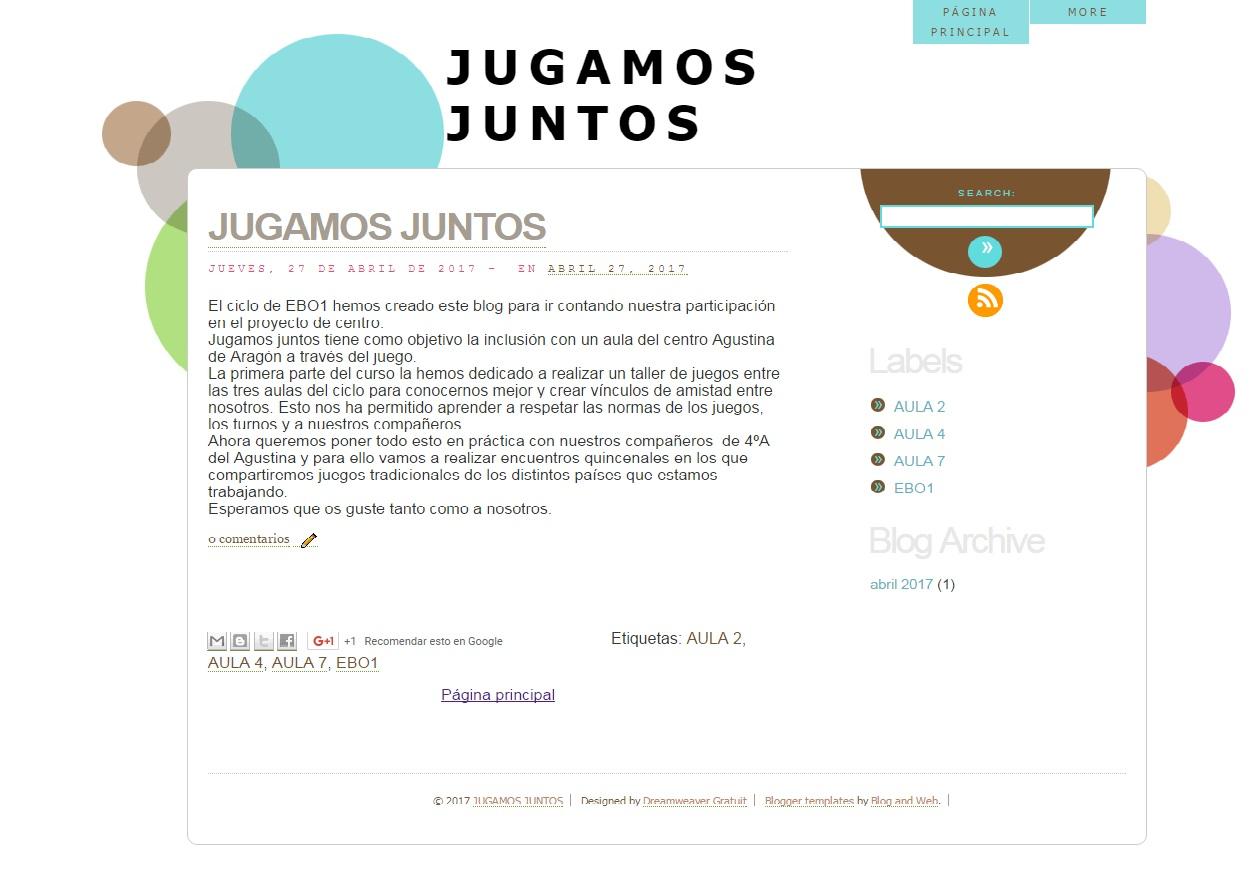 JUGAMOS JUNTOS