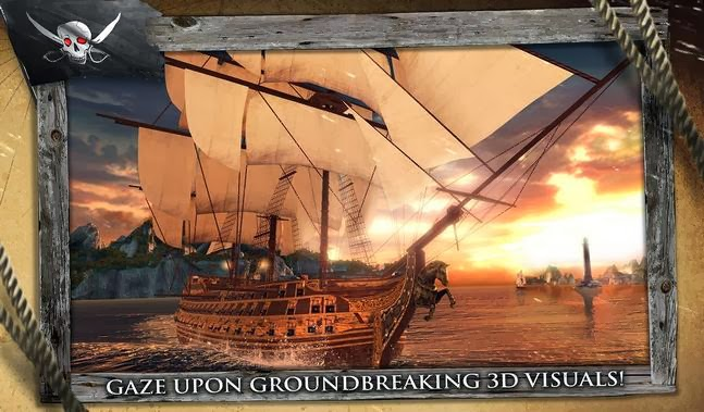 Assassin's Creed Pirates android apk - Screenshoot