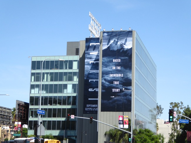 Giant Everest movie billboard