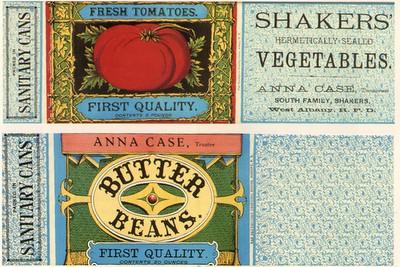 White Barn No 17 Vintage Labels
