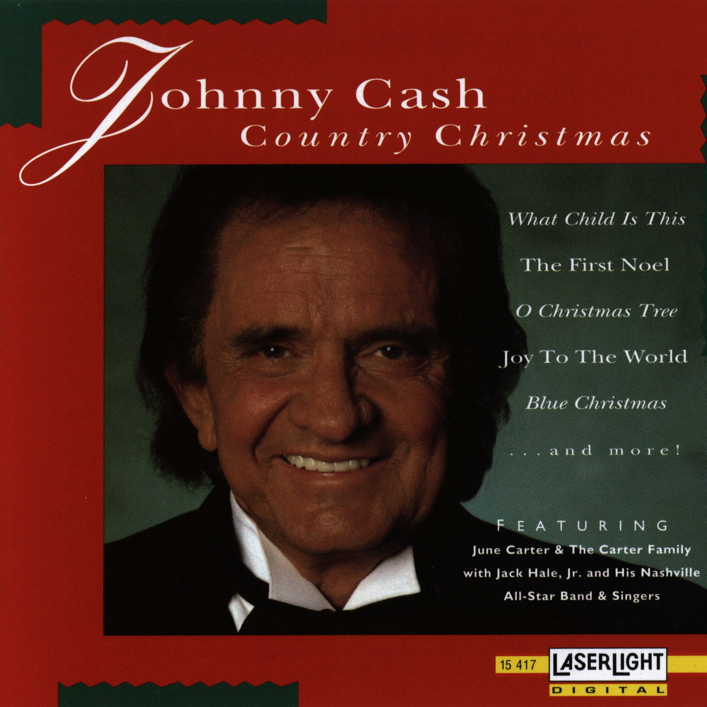 Image - Johnny Cash - Johnny Cash Country Christmas.jpg | LyricWiki ...