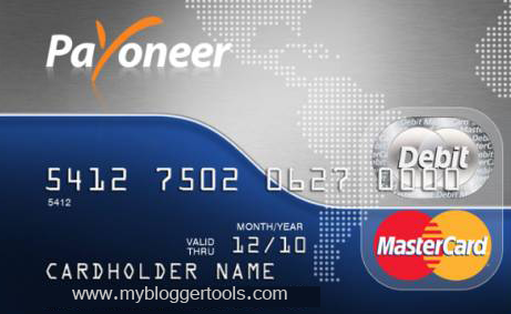 Apply Your Payoneer Card