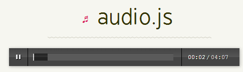 audio Player html