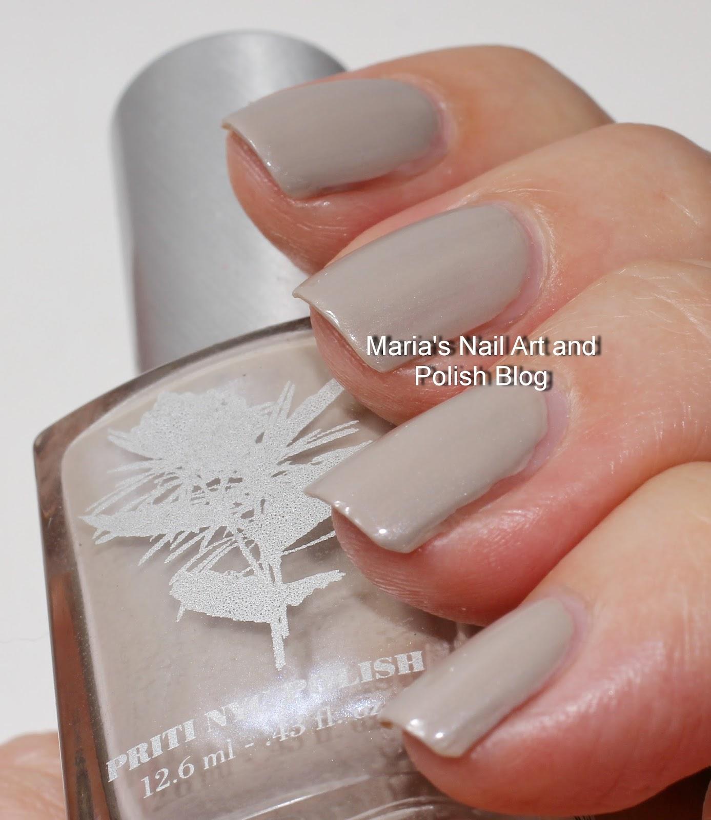 Nyc Metallic Nail Polish: Marias Nail Art And Polish Blog: Priti Nyc Swatches