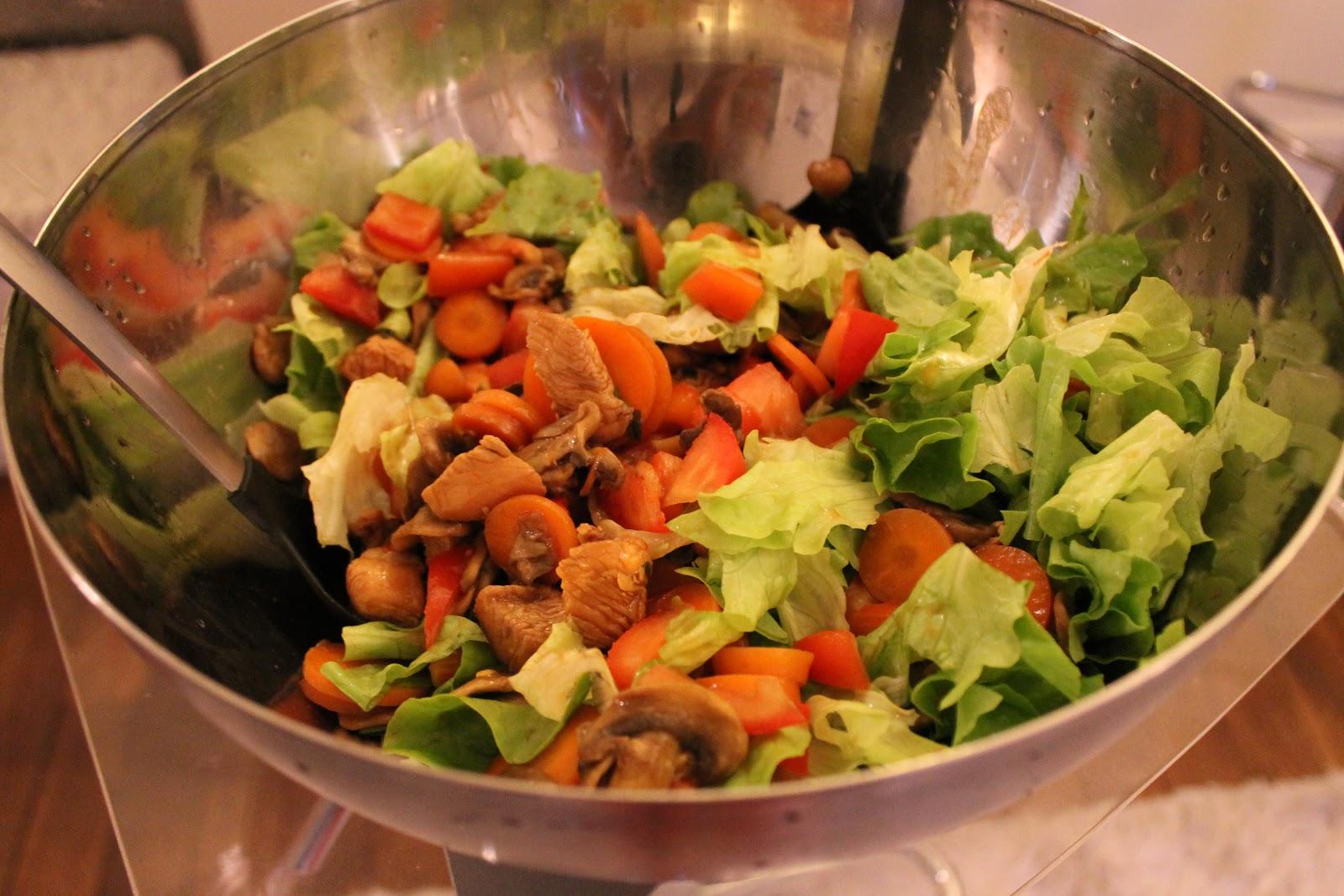 salade de poulet rapide