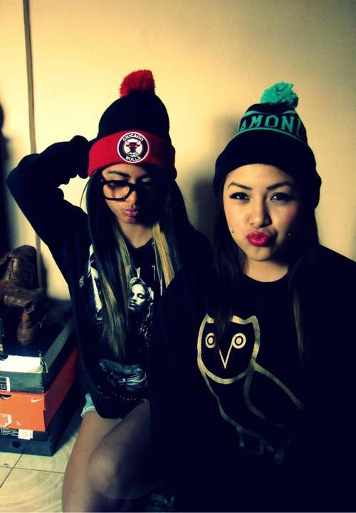 Teenage Girls with Swag Tumblr