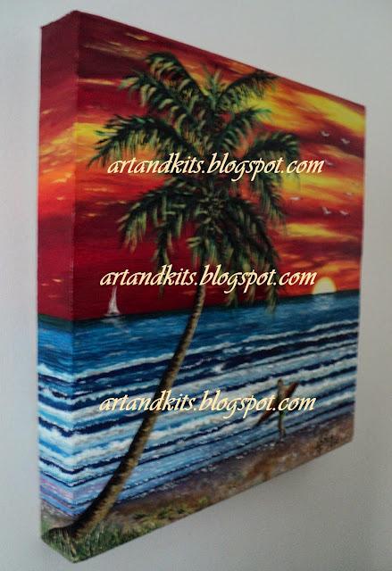 Cores de Verão, pintura a óleo e acrílico... / Summer Colors, oil and acrylic painting...