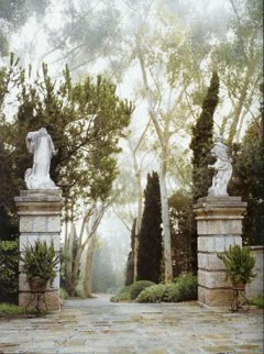"John Saladino Estate<br> via <i>""Santa Barbara Living"" by Dian Dorrans Saeks</i>"