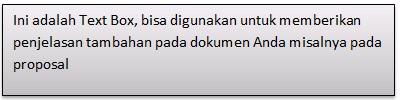 Memasang Quote pada Microsoft Word