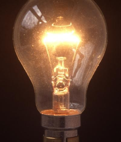 """physics of a light bulb The first on-chip, visible-light source that uses """"wonder material"""" graphene as a filament has been created by an international team of researchers."""