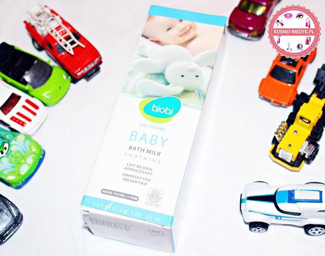 Bjobj – Delikatne mleczko do kąpieli dla niemowląt i dzieci