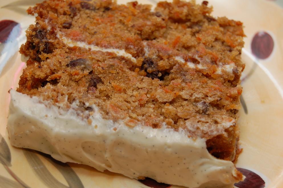 Martha Stewart Carrot Cake