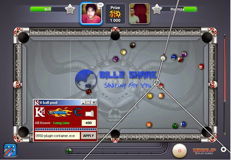 Cheat 8 Ball Pool Multiplayer Line Hack 18 April 2015
