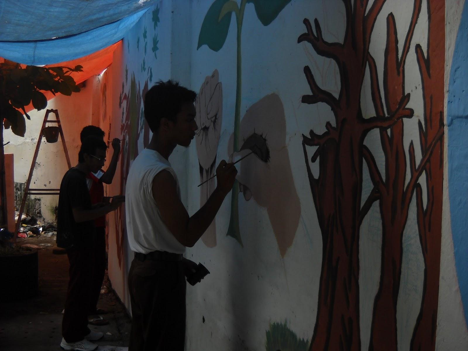 5 cara selamatkan dunia lewat sekolah anda man 1 for Mural go green