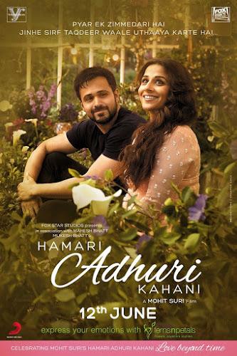 Hamari Adhuri Kahani (2015) Movie Poster No. 2