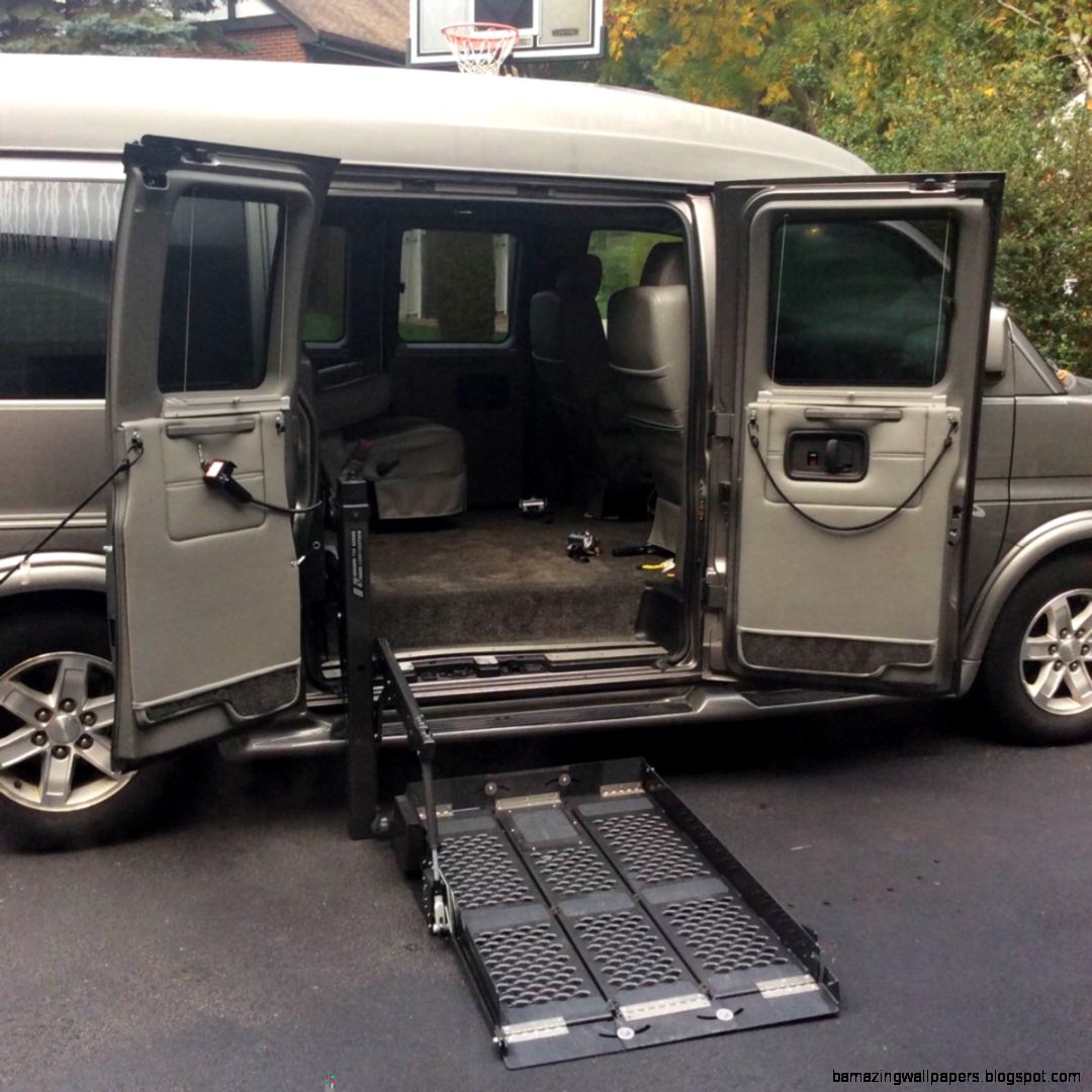 GMC Wheelchair Van Conversion