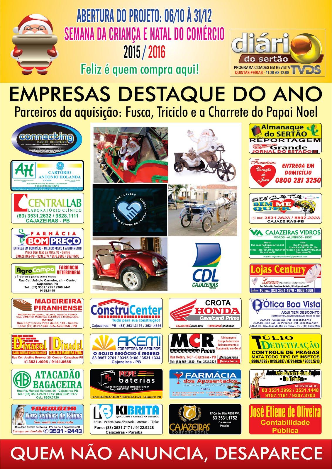 AMIGOS PARCEIROS  DO PAPAI NOEL  DE CAJAZEIRAS PB