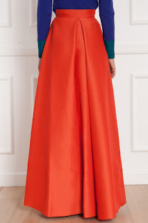 Flared Maxi Skirts