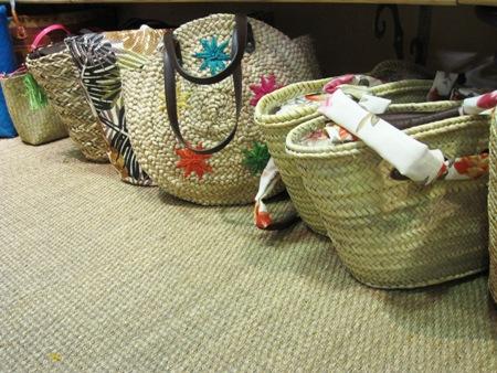 Cestas de fibra vegetal