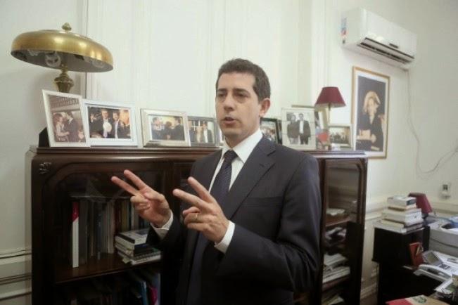 "Entrevista de Tiempo Argentino al diputado Eduardo ""Wado"" de Pedro."