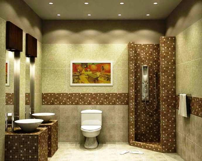 Wall Painting Ideas Bathroom